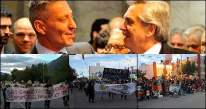 Chubut: Crisis del gobierno y luchas sociales