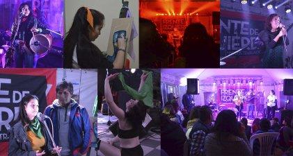 Con el apoyo de más de veinte artistas arrancó con todo la campaña del FIT Unidad en Jujuy