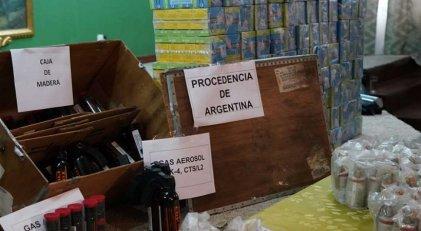 Macri y el golpe: Gobierno boliviano mostró más armas ingresadas ilegalmente desde Argentina