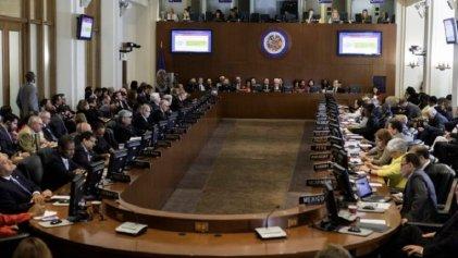 Injerencia imperialista: la OEA exhorta a Nicaragua a adelantar las elecciones