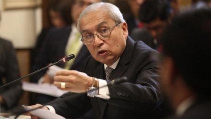 Perú: renuncia el fiscal de la nación Pedro Chavarry