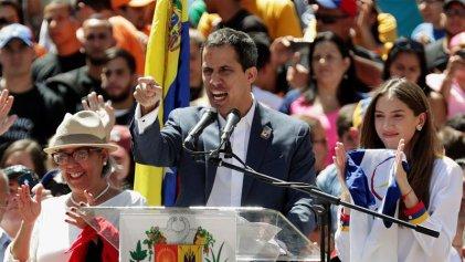 """Provocación anunciada: Guaidó pone fecha para intentar el ingreso de la """"ayuda humanitaria"""""""