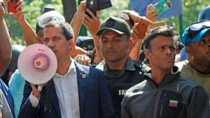 Repudiamos la intentona golpista de Guaidó apoyado por el imperialismo y la derecha regional