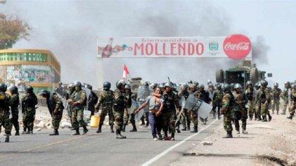 Perú: Martín Vizcarra autoriza ingreso de las Fuerzas Armadas para reprimir la lucha del pueblo de Arequipa