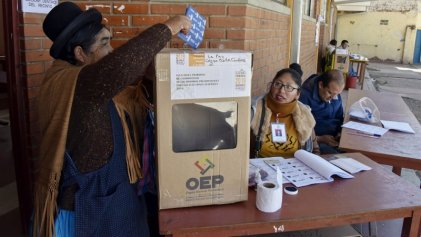 Hoy Bolivia va a las urnas