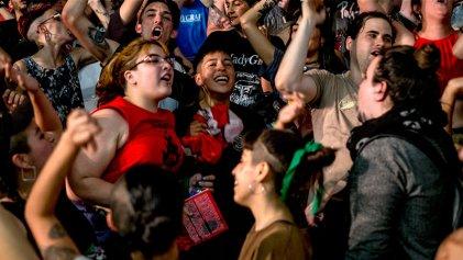 ¡Chile despertó! ¡No al golpe en Bolivia! Imágenes del gran acto internacionalista