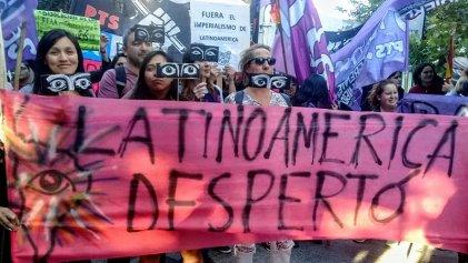 [FOTOGALERIA] #25N Miles de mujeres marcharon en Neuquén