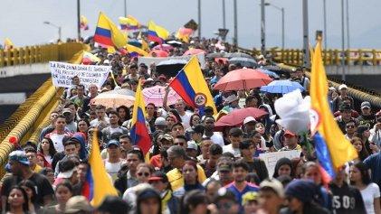 [Video] Nuevo paro nacional en Colombia contra el Gobierno represor de Duque
