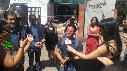 Liberado el docente chileno preso por participar en una protesta