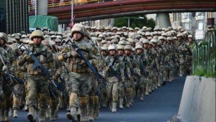 Bolivia militarizada