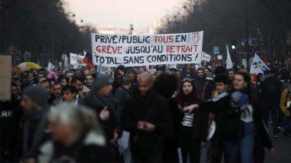 Francia: 51 días de huelga y nueva jornada de movilizaciones
