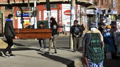 Se agrava y extiende el colapso sanitario en Bolivia