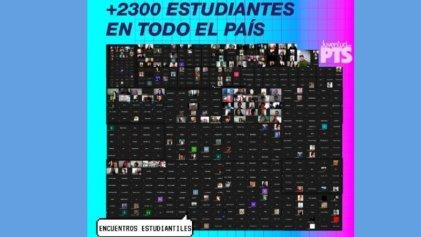 Crece la organización: más de 2300 estudiantes se reunieron en asambleas virtuales en todo el país