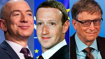 Capitalismo explícito: Doce millonarios suman una fortuna de trece dígitos