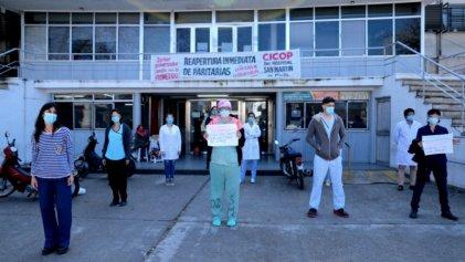Hospital San Martín: trabajadores de higiene denuncian estar expuestos a contagios masivos