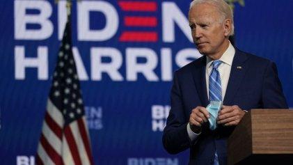Joe Biden vuelve a pedir calma y asegura que será el ganador