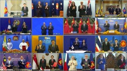 China y 14 países firmaron el acuerdo de libre comercio Asia-Pacífico