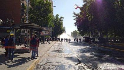 Movilizaciones en Santiago y otras ciudades de Chile por el derecho al retiro de fondos jubilatorios