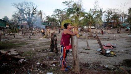 Más de 400.000 personas necesitan ayuda urgente en Centroamérica