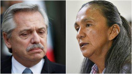 Tras el fallo de la Corte, Milagro Sala le pidió a Alberto Fernández que la indulte