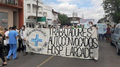 Hospital Larcade: masiva movilización, traición y amenazas