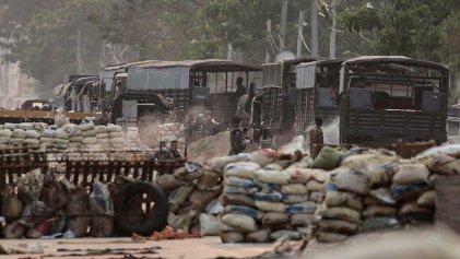 Represión del Ejército deja al menos 30 muertos en un barrio obrero en Myanmar