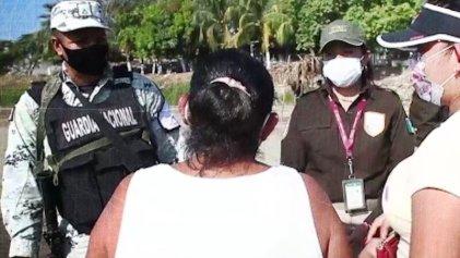 La Guardia Nacional mexicana vuelve a cerrar el paso a migrantes en frontera con Guatemala