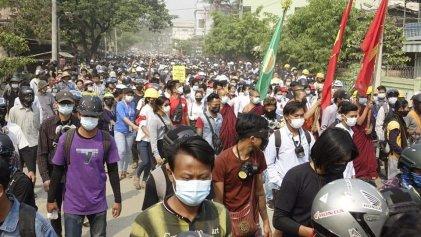 Más de 100 muertos en Myanmar en la jornada más letal desde el golpe de Estado