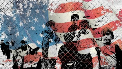 Niñez migrante: presa en la frontera de Estados Unidos