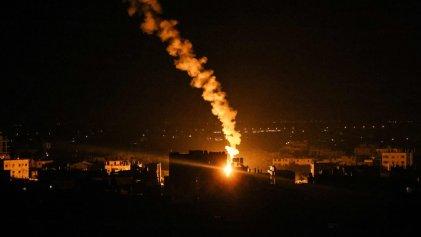 Israel bombardea Gaza por segunda vez en tres días
