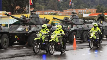 Militares de la reserva activa de Colombia piden mano dura contra la movilización popular