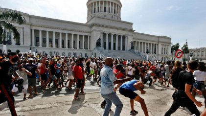 Qué expresan las manifestaciones contra el gobierno cubano y su respuesta represiva