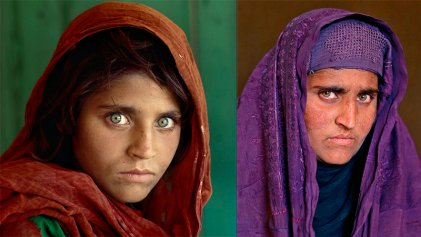 La historia detrás de la foto: La niña y la mujer afgana