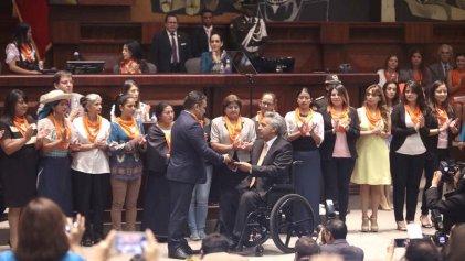 En Ecuador modifican proyecto de ley por presión de la Iglesia