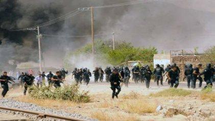 Basta de represión a los maestros en México