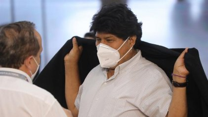 Evo Morales dio positivo de coronavirus y comenzó el tratamiento médico