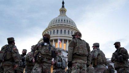 Militarizada y sin manifestaciones, Washington se prepara para la asunción de Biden