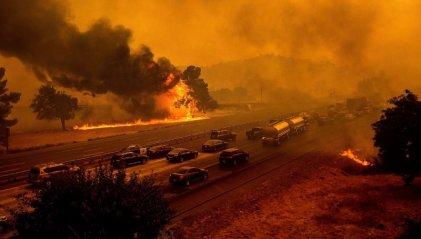 Arde California: el segundo incendio forestal más grande de la historia