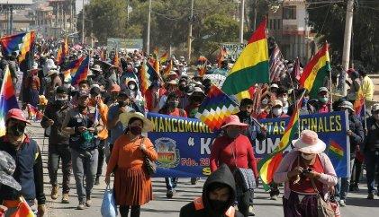 Justicia boliviana convoca al diálogo luego de tres días de bloqueos y movilizaciones