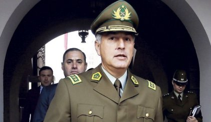 Renunció el jefe de Carabineros de Chile tras el tiroteo a dos menores