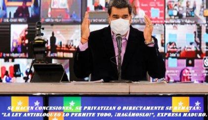 Un país en remate: transnacionales y empresarios locales festejan las políticas de Maduro