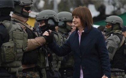 Patricia Bullrich amenaza con más represión