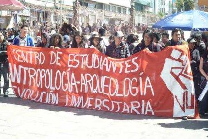 Bolivia: más de dos meses de lucha estudiantil en Cochabamba