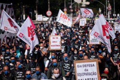 Terminó la huelga del Metro de San Pablo: se podía ir por más