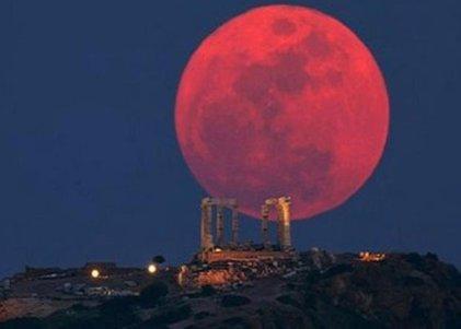 La superluna de sangre de fin de mayo