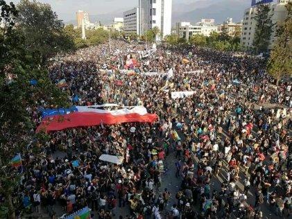 Decenas de miles se movilizaron en todo el país a 50 días de la rebelión
