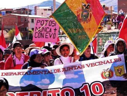 Potosí: gobierno concluye unilateralmente el diálogo