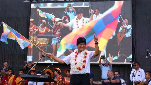 Acto de Evo Morales en Argentina: demagogia antiimperialista