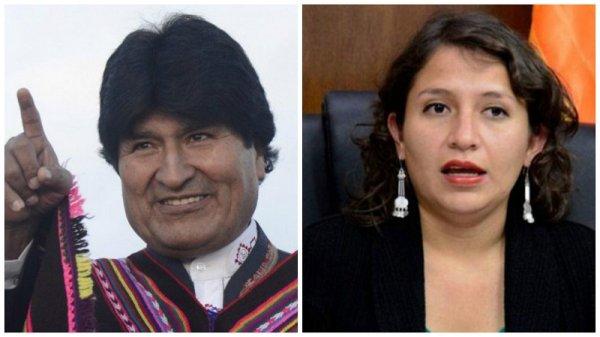 """Evo Morales: """"No quiero pensar que es lesbiana, compañera ministra"""""""