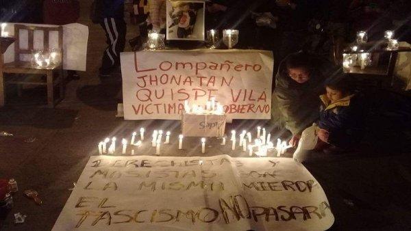 Gobierno de Evo Morales deslinda responsabilidad por muerte de estudiante y continúan movilizaciones